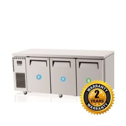 Skipio Under Counter Combination Fridge & Freezer - SURF18-3