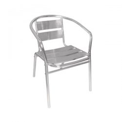 Aluminium Stacking Chairs (Pack of 4) - U419