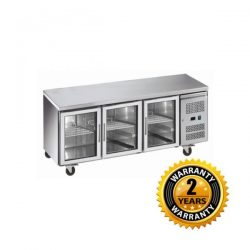 Exquisite Underbench Chiller with Glass Doors - USC400G