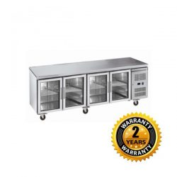 Exquisite Underbench Chiller with Glass Doors - USC550G