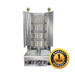 Veysel's Gas 4 Burner Kebab Machine - KMB4E