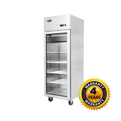 Atosa Top Mounted Single Door Glass Freezer- MCF8601