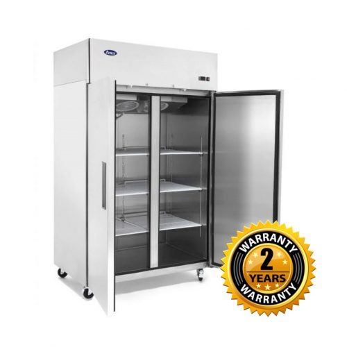 Atosa Top Mounted Double Door Fridge - MBF8005