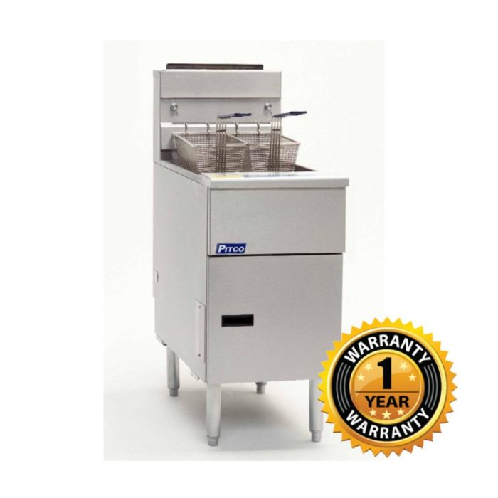 Pitco Economy Series Gas Fryer - 35C+S