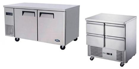 Underbench Solid Door Freezer