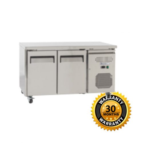 Exquisite Underbench Freezer with 2 Solid Doors - USF260H